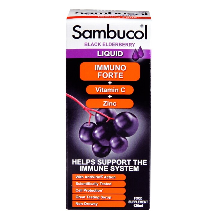 aee6da715750 Sambucol Immuno Forte Black Elderberry Formula 120ml €10.99