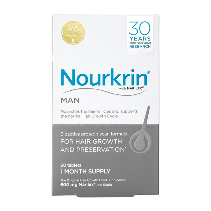 Nourkrin Man Hair Preservation 1 Month Supply 60 Tablets