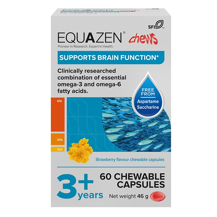 Equazen Eye Q Children's Chewable Capsules