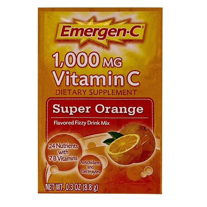 EmergenC Super Orange Flavoured Vitamin C Fizzy Drink Mix