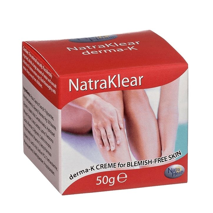 Natra Health Natraklear DermaK Crème for Blemish Free Skin