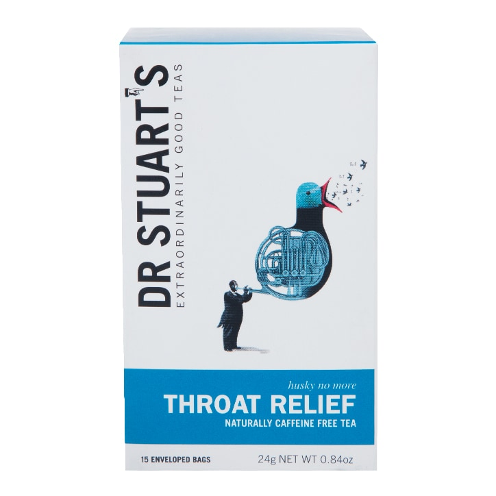 Dr Stuart's Throat Relief Tea