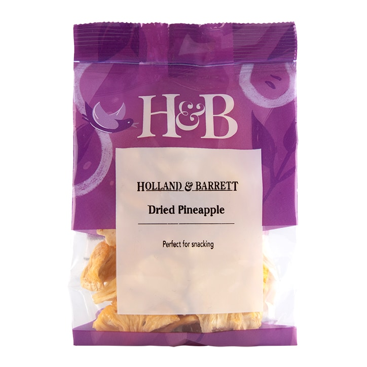 Holland & Barrett Pineapple Pieces 100g