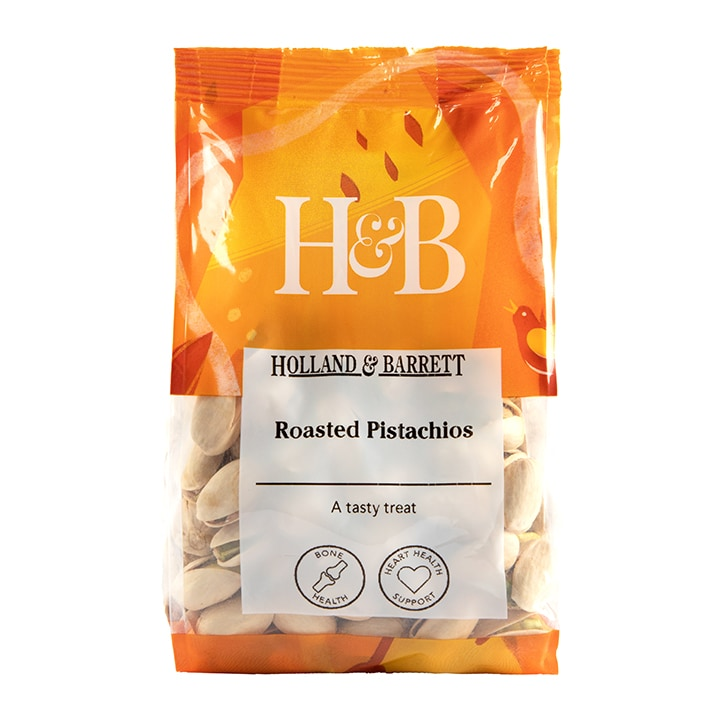 Holland & Barrett Unsalted Roasted Pistachio Nuts 200g