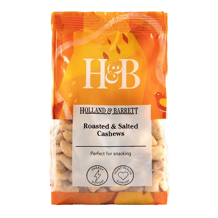 Holland & Barrett Roasted & Salted Cashew Nuts 250g