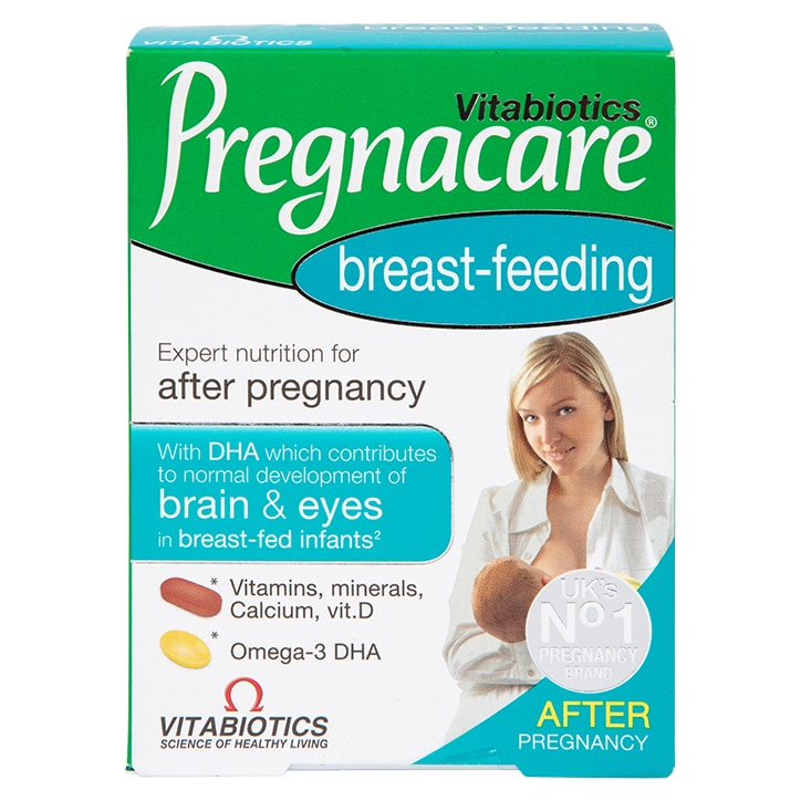 Vitabiotics Pregnacare Breastfeeding Tablets