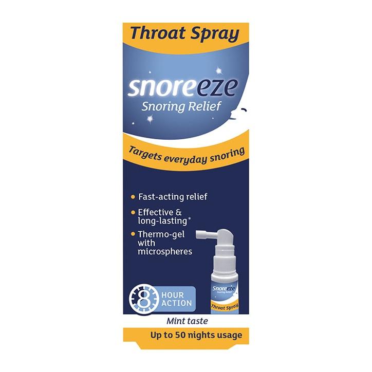 Snoreeze Snoring Relief Throat Spray 22ml