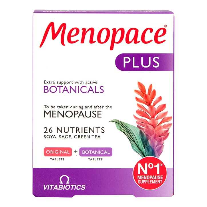 Vitabiotics Menopace Plus 56 Tablets