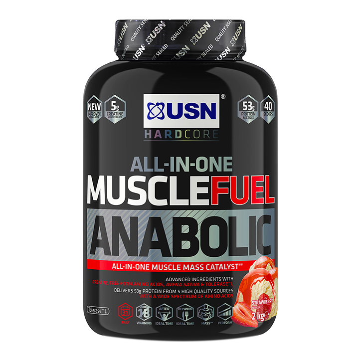 USN Muscle Fuel Anabolic Strawberry