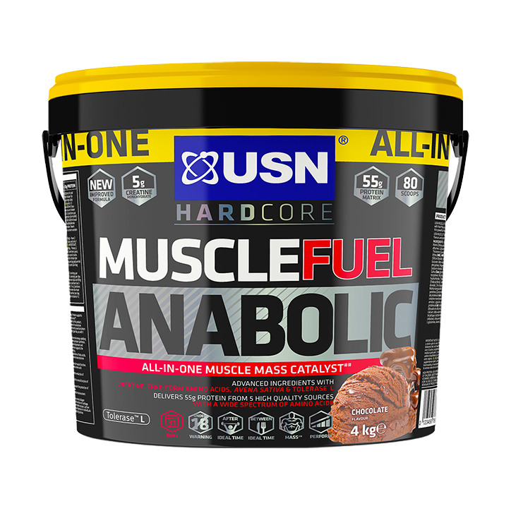 USN Muscle Fuel Anabolic All-In-OneShake Chocolate 4kg