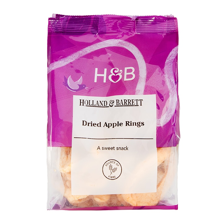 Holland & Barrett Dried Apple Rings 250g
