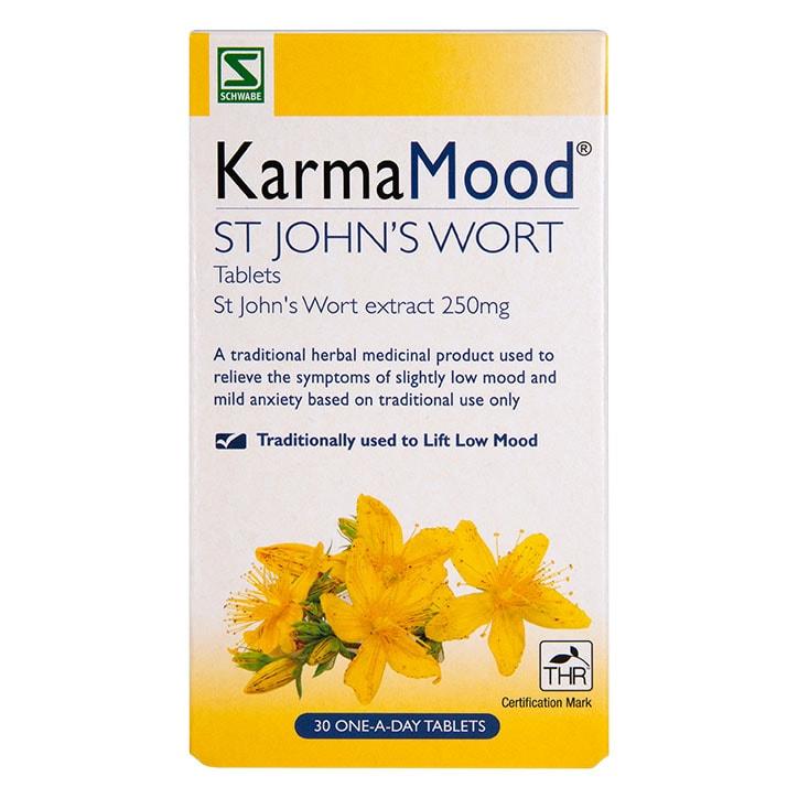 Schwabe Pharma KarmaMood St John's Wort 425mg 30 Tablets