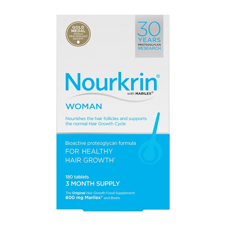 Nourkrin Woman Hair Nutrition 3 Months Supply 180 Tablets