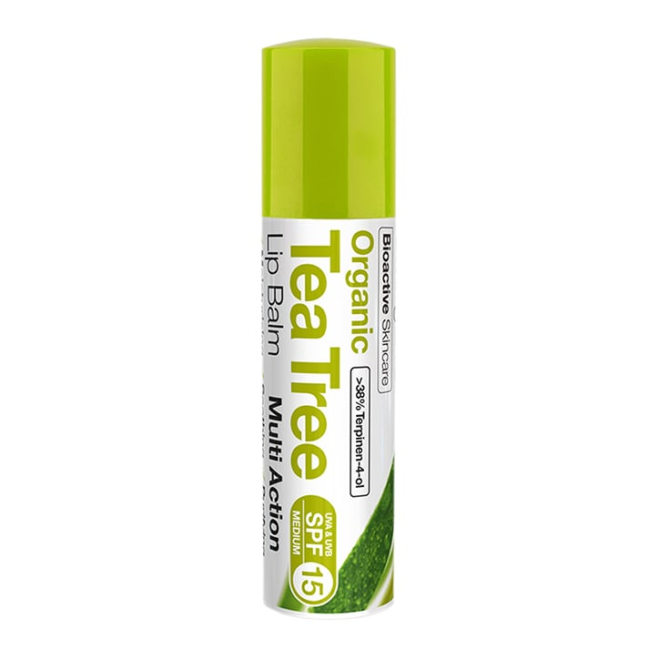 Dr Organic Tea Tree Lip Balm