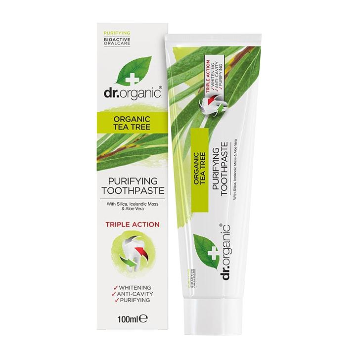 Dr Organic Tea Tree Toothpaste 100ml