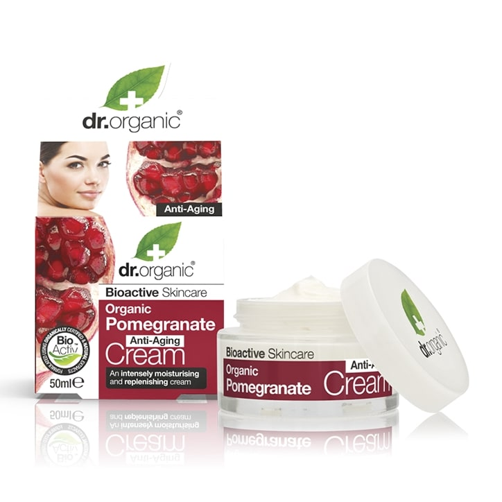 Dr Organic Pomegranate Anti-Aging Cream