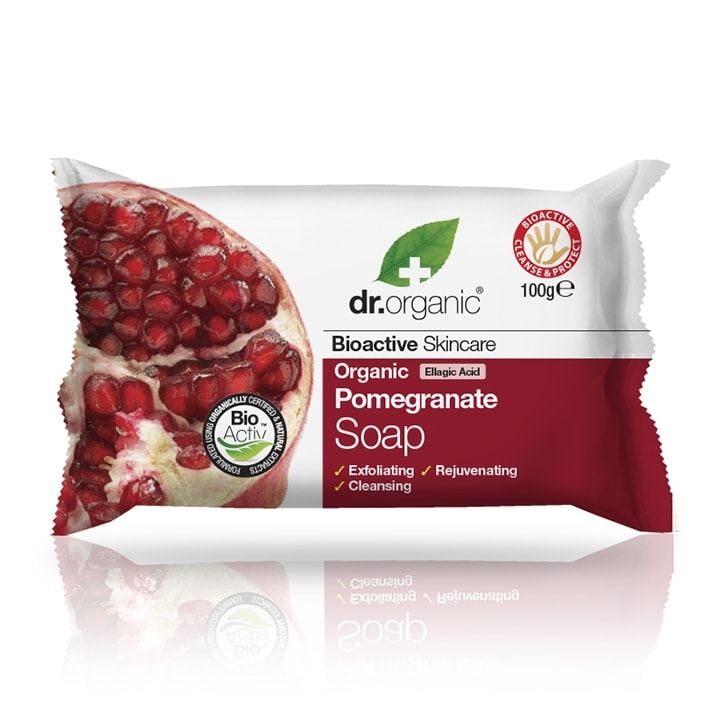 Dr Organic Pomegranate Soap 100g