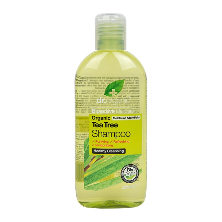 Dr Organic Tea Tree Shampoo 265ml