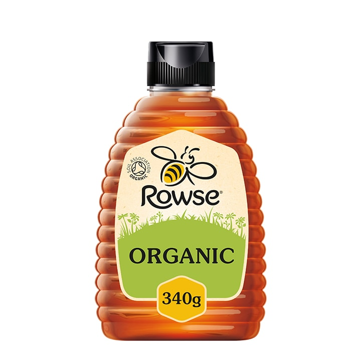 Rowse Squeezable Organic Clear Honey