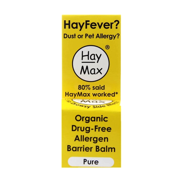 Haymax Pure Organic Drug Free Pollen Barrier Balm 5ml