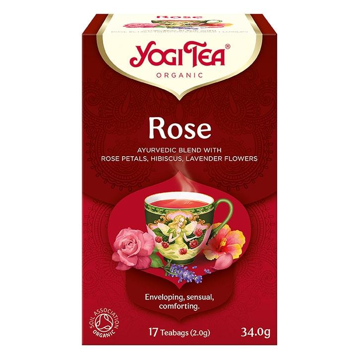 Yogi Tea Organic Rose Tea Bags