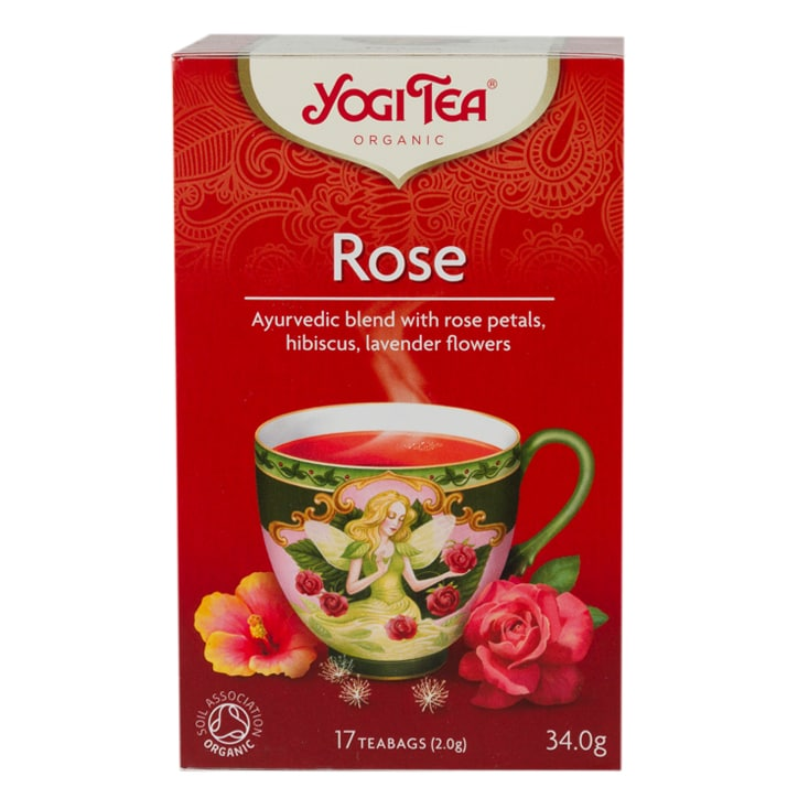 Yogi Tea Organic Rose Tea Bags by Yogi Tea Organic Rose Tea Bags