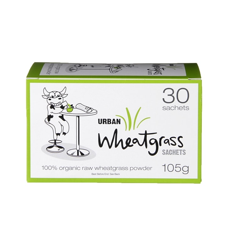 Urban Health Wheatgrass Powder Sachets