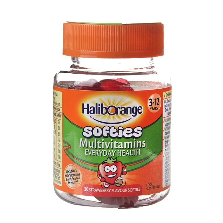 Haliborange Multivitamin Fruit Softies Multivitamins Capsules