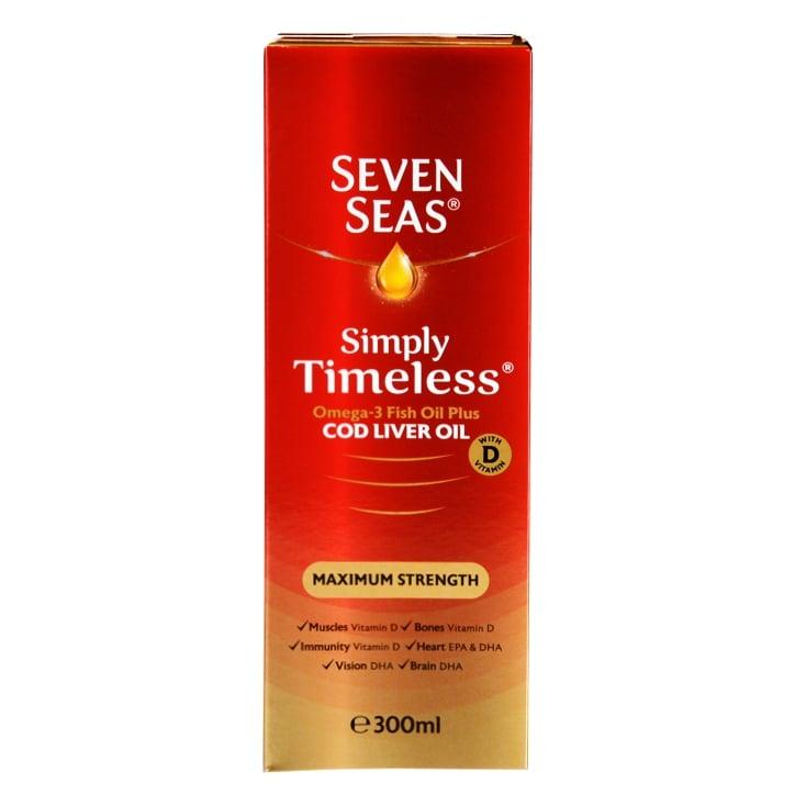 Seven Seas Extra High Strength Cod Liver Oil Liquid