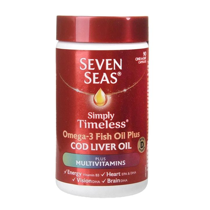 Seven Seas Cod Liver Oil plus Multivitamins 90 Capsules