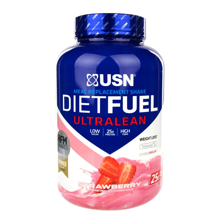 USN Diet Fuel Meal Replacement Shake Strawberry 1kg