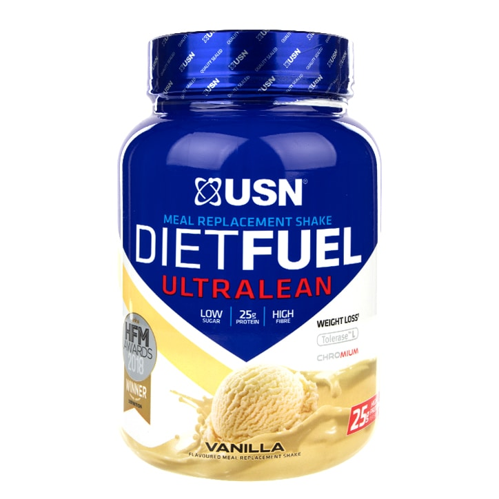 USN Diet Fuel Meal Replacement Shake Vanilla 1kg