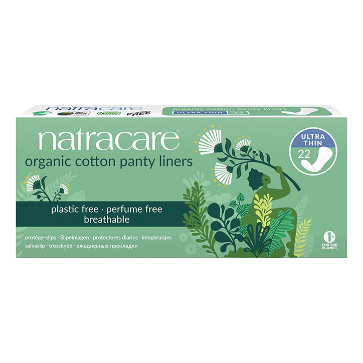 Natracare Natural Organic Panty Liners 22 Ultra Thin