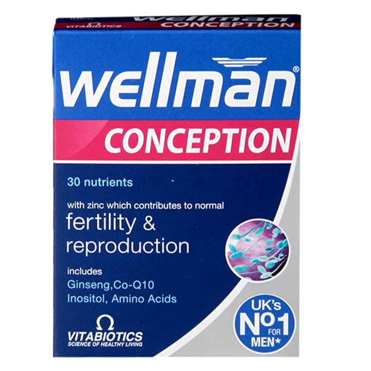 Vitabiotics Wellman Conception 30 Tablets