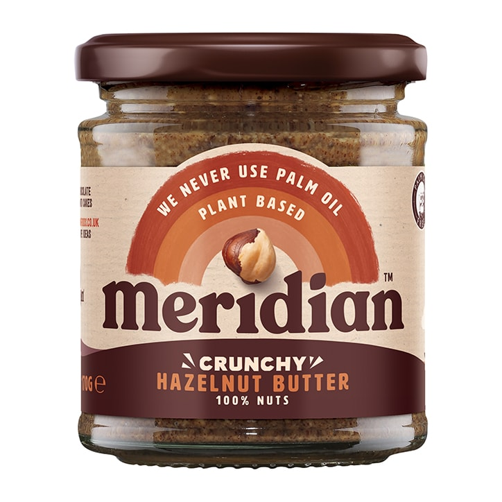 Meridian Natural Hazelnut Butter Whole Nut Spread 170g