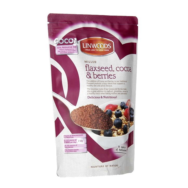 Linwoods Milled Flaxseed Cocoa & Berries 360g