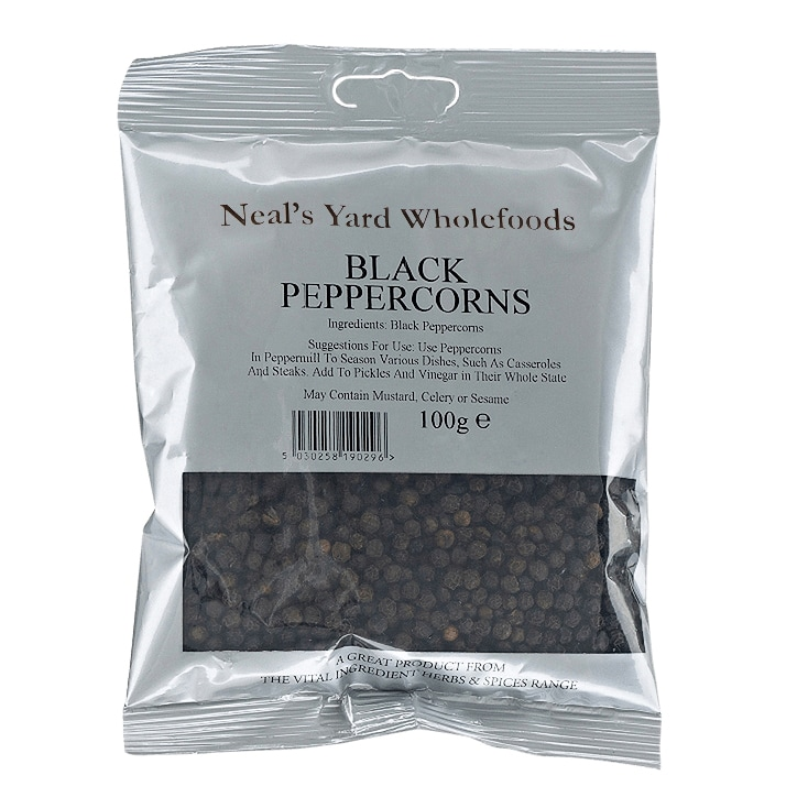 The Vital Ingredient Black Peppercorns 100g