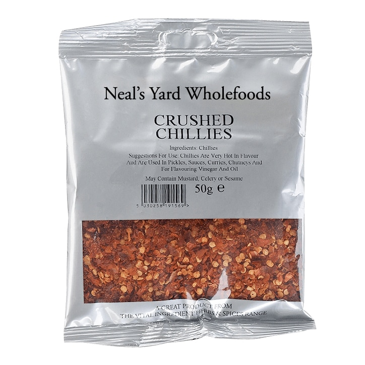 Neal's Yard Wholefoods Crushed Chillies 50g