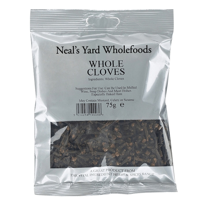 Neal's Yard Wholefoods Whole Cloves 75g