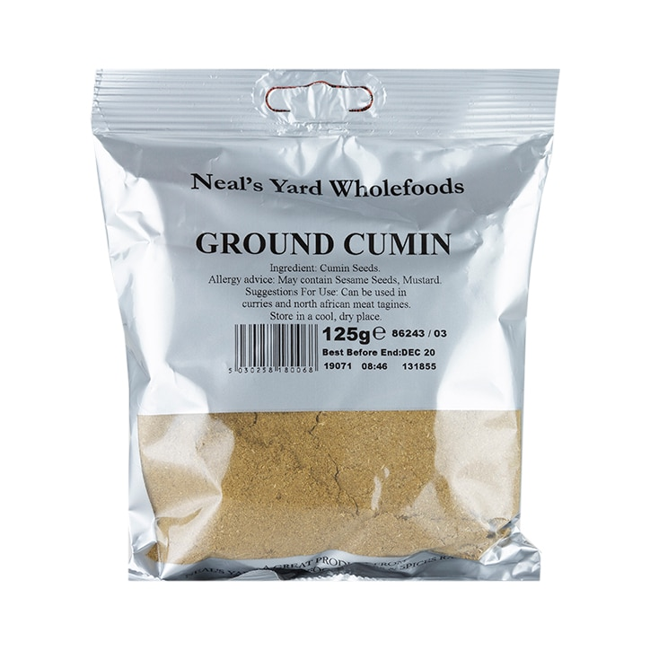 Neal's Yard Wholefoods Ground Cumin 125g