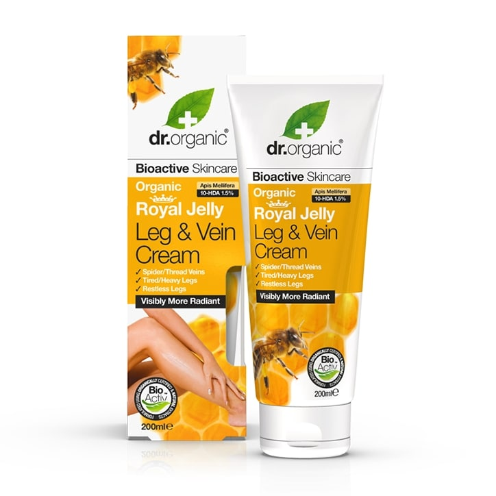 Dr Organic Royal Jelly Leg & Vein Cream