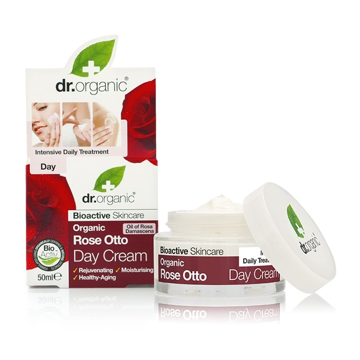 Dr Organic Rose Otto Day Cream 50ml