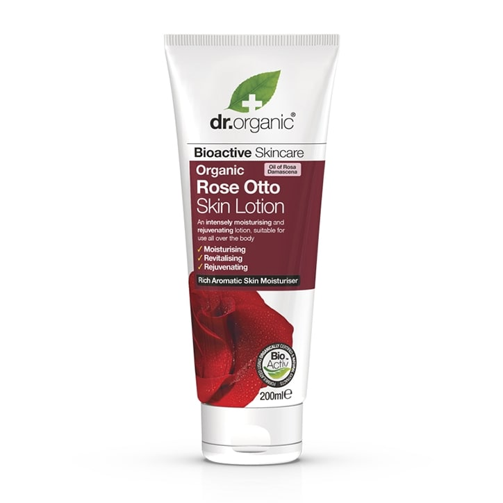 Dr Organic Rose Otto Skin Lotion