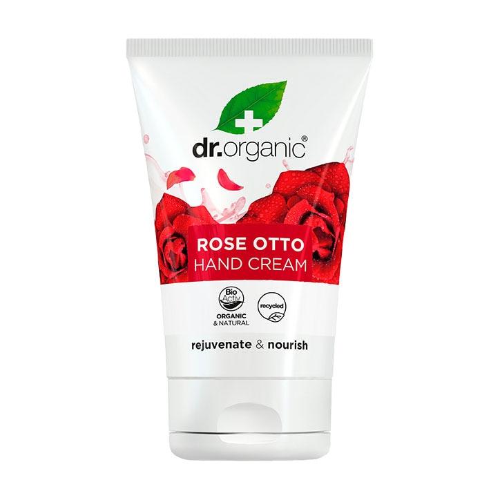 Dr Organic Rose Otto Hand & Nail Cream 125ml