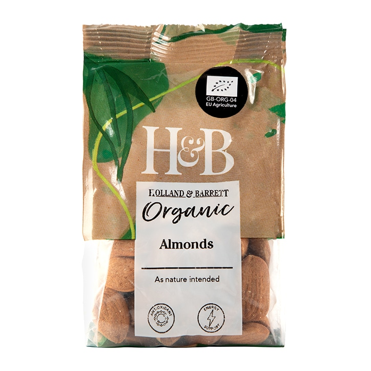 Holland & Barrett Organic Almonds 100g