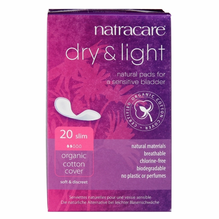 Natracare Natural Organic Dry & Light Incontinence Pads