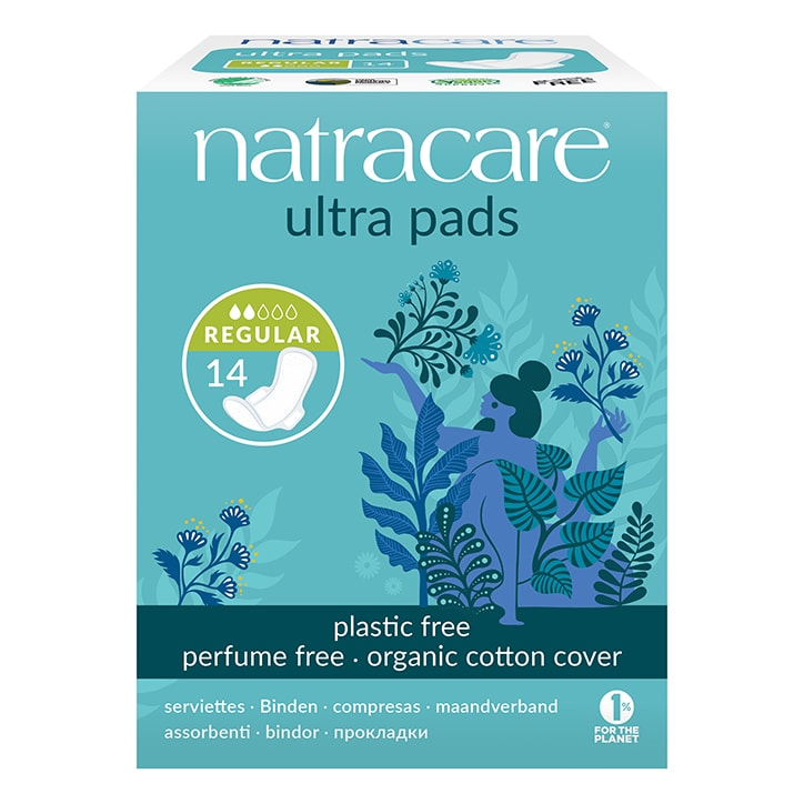 Natracare Natural Organic Ultra Pads with Wings Normal
