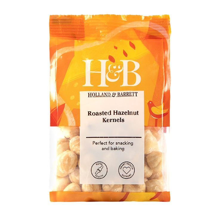 Holland & Barrett Roasted Hazelnut Kernels 100g