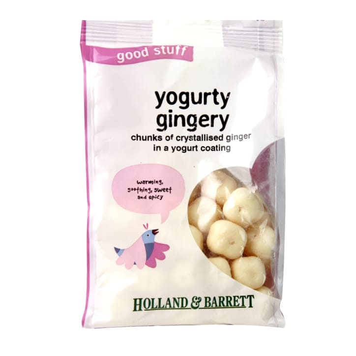Holland & Barrett Yogurt Coated Ginger