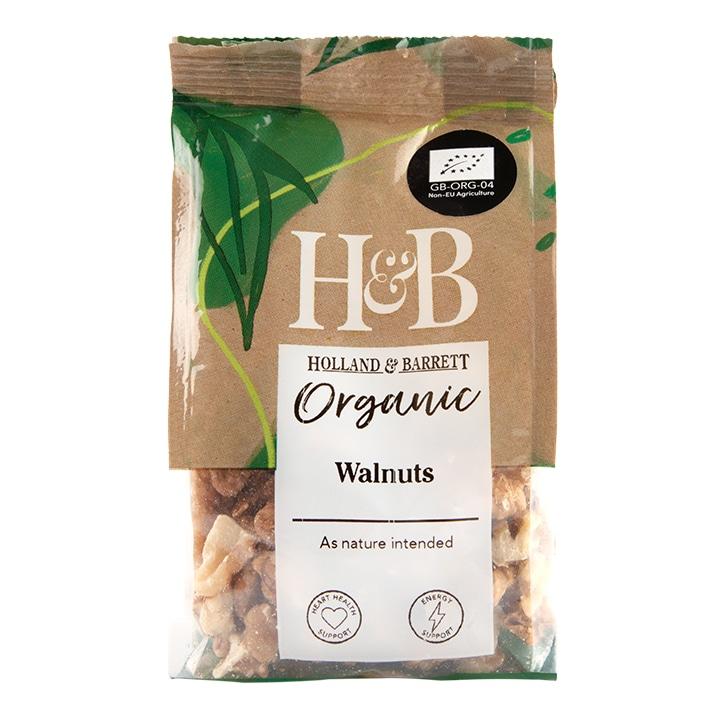 Holland & Barrett Organic Walnuts 75g
